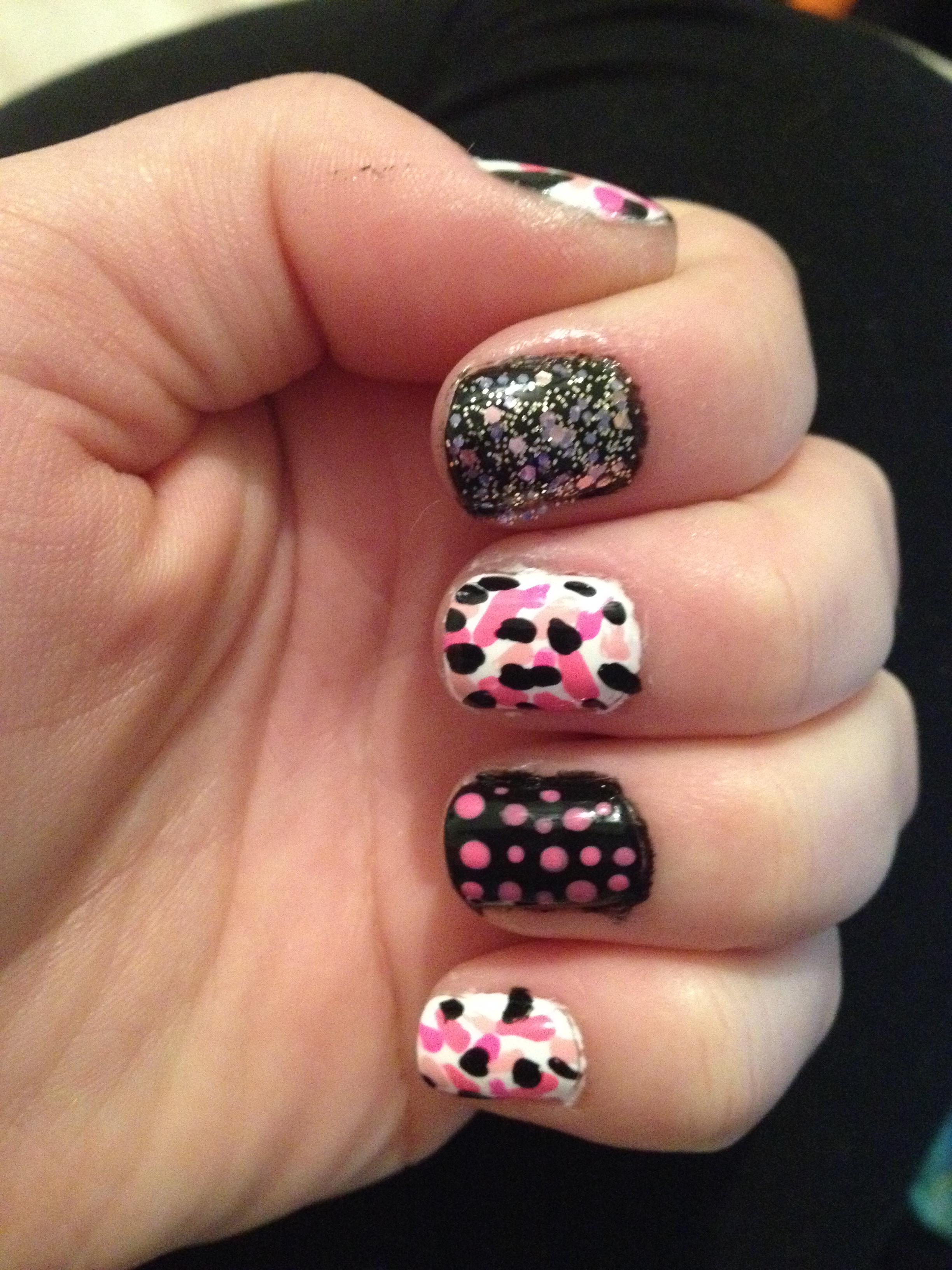 Pink Nail Art | Corissa\'s Corner